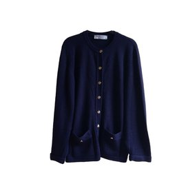 Burberry-Knitwear-Navy blue