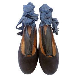 Chloé-Harper ballet flats-Black