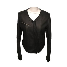 Flavio Castellani-Biker Jacket-Black