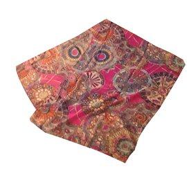Autre Marque-Foulards-Rose,Multicolore ... 278f9f9e8e6