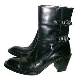 Luciano Padovan-Ankle Boots-Black