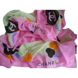 Chanel-Paréo-Multicolore