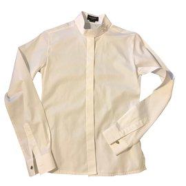 Hermès-Hermes shirt-White