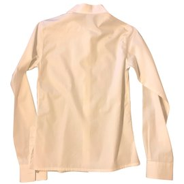 Hermès-Chemise-Blanc
