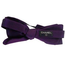 Chanel-HEADBAND-Violet