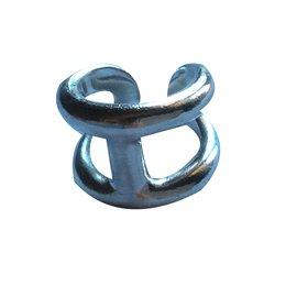 Hermès-Osmose Ring-Silvery
