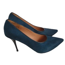 Dries Van Noten-Escarpins-Bleu