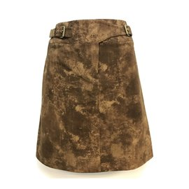 Céline-Skirts-Brown