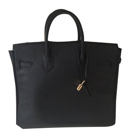 Hermès-Birkin 32 HAC-Noir