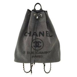 Chanel-Deauville-Dark grey