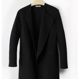 Céline-Celine Coat-Black