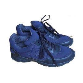 Chanel-Baskets-Bleu