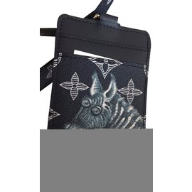 Louis Vuitton-Chapman porte carte-Gris