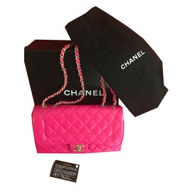 Chanel-Chanel Timeless Medium bag - 2017 - Brand New-Pink