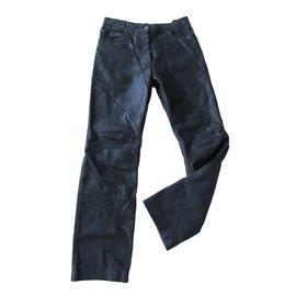 Autre Marque-Pantalons homme-Noir