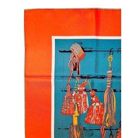 Hermès-PASSEMENTERIE QUADRI-Multicolore Hermès-PASSEMENTERIE  QUADRI-Multicolore f2743996ca3