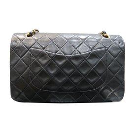 Chanel-Classic Vintage-Noir
