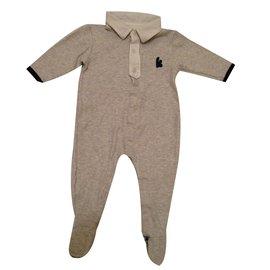 Karl Lagerfeld-grenouillère bébé-Gris