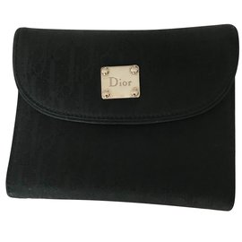 Christian Dior-Purses, wallets, cases-Black