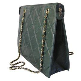 Chanel-Sac vintage-Vert