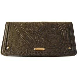 Céline-Porte-cartes porte monnaie-Noir