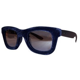Italia Independent-Italia independent new men's sunglasses-Black,Blue