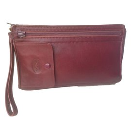 Longchamp-Petite maroquinerie homme-Rouge