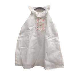Chloé-Robes fille-Blanc