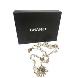 Chanel-Collier Chanel-Argenté