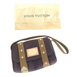 Louis Vuitton-Sacs à main-Marron foncé