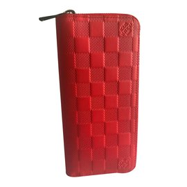 Louis Vuitton-zippy Vertical Organizer-corail
