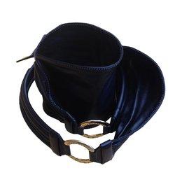 Gianfranco Ferré-ceinture à nouer vintage-Noir