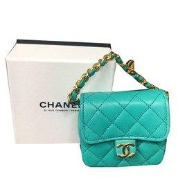 Chanel-Mini Timeless C-Blue