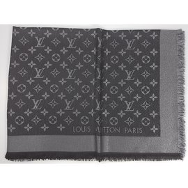 Louis Vuitton-Foulards-Noir