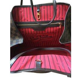 Louis Vuitton-NEVERFULL-Marron