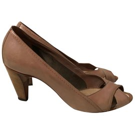 Costume National-Heels-Taupe