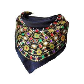 Chanel-Carrés-Multicolore