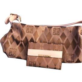 Givenchy-Handbags-Brown,Pink
