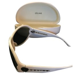 Céline-Sunglasses-White