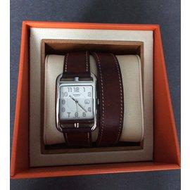 Hermès-cap cod GM-Silvery