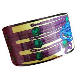 Hermès-bracelet émail Extra Large-Multicolore