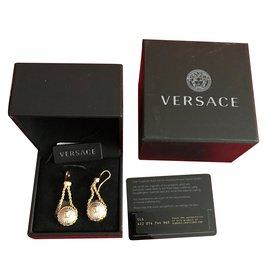 Versace-Boucles d'oreilles-Doré