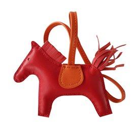 Hermès-RODEO PM-Rouge