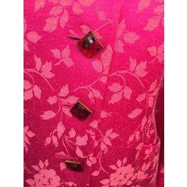 Yves Saint Laurent-Tailleur jupe-Rose