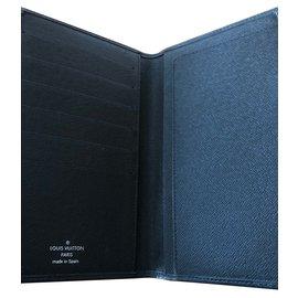 Louis Vuitton-Porté chéquier-Noir