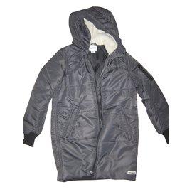 Converse-Coats, Outerwear-Black