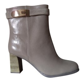 Nine West-Ankle Boots-Grey