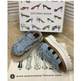 Suecomma Bonnie-Sandals-Blue