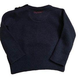 Hackett London-Sweaters-Navy blue