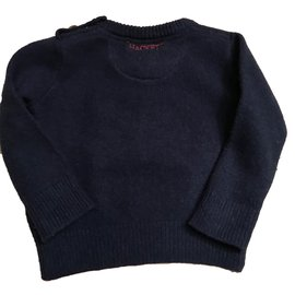 Hackett London-Pulls, gilets garçon-Bleu Marine